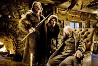 Kurt Russell, Jennifer Jason Leigh, and Bruce Dern in Quentin Taratino's 'The Hateful Eight'