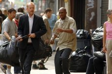 Bruce Willis and Mos Def in '16 Blocks,' directed by Richard Donner.