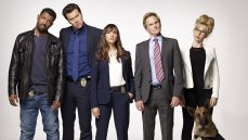 The cast of the TBS sitcom 'Angie Tribeca'