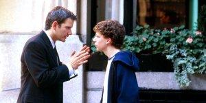 Campbell Scott and Jesse Eisenberg in Dylan Kidd's 'Roger Dodger'