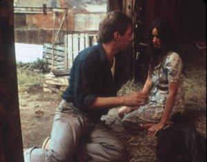 "David Carradine and Barbara Hershey in Martin Scorsese's ""Boxcar Bertha"""