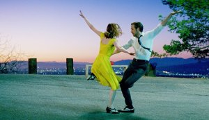 "Emma Stone and Ryan Gosling in Damien Chazelle's Oscar-winning musical ""La La Land."""