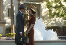 "Matt Bomer and Lily Collins in ""The Last Tycoon."""