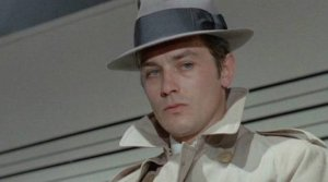 Alain Delon stars in the Jean-Pierre Melville French crime film classic