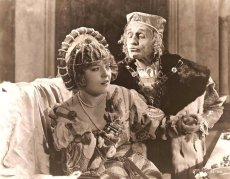Marion Davies is Mary Tudor in the silent costume drama