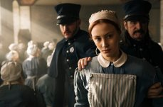 Sarah Gadon stars in the Netflix series adapted from the Margaret Atwood novel by Sarah Polley and directed by Mary Harron