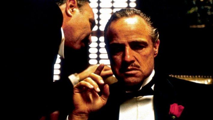Marlon Brando stars in the Oscar-winning film by Francis Ford Coppola