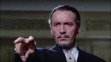 Christopher Lee in the horror film by Terence Fisher