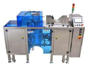 Linear Compact Premade Pouch Packaging Machine - Stream Peak