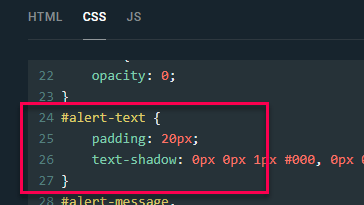 where to edit text css setting