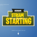 fortnite stream starting soon intro