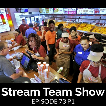 Stream Team Show 073 Part 1 Cover