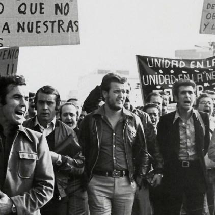 el entusiasmo - foto (13) - Julián Martín Cuesta_ Manifestación trabajadores de SEAT (1977)