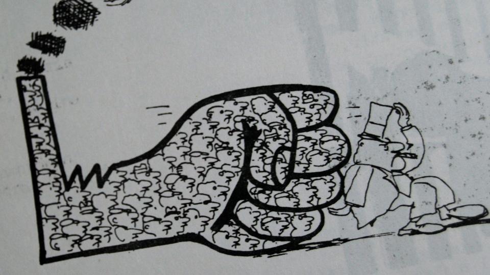 el entusiasmo - foto (29) - Ilustración en la prensa obrera