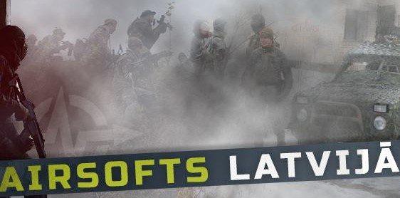 Facebook grupa Airsofts Latvijā