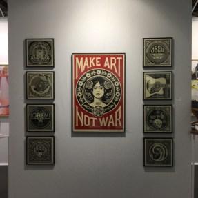 Artiste Obey Galerie Joël Knafo - Stand E203