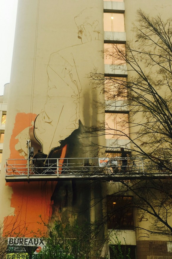 Work in progress - Conor Harrington - Paris 13