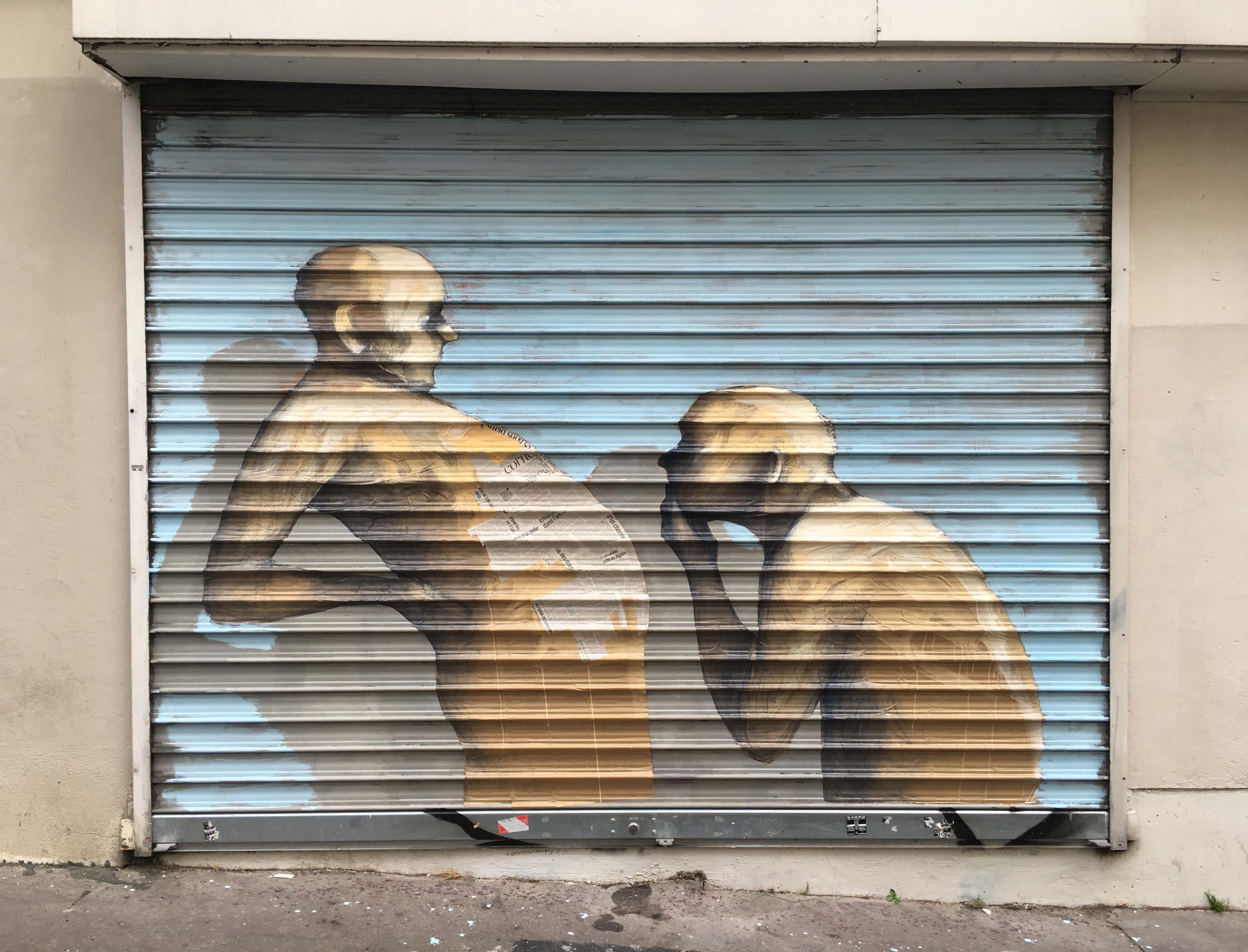 Philippe Hérard rue Jean Baptiste Dumay - 2016 © T. Benedetti