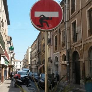 Clet Abraham, Sète ©Streep