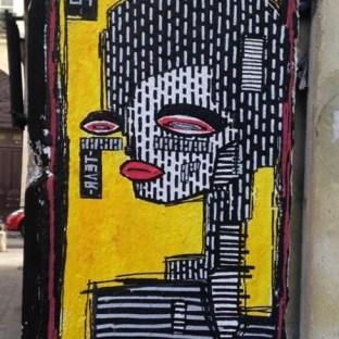 L'artiste Alo dans les rues de Paris ©Streep