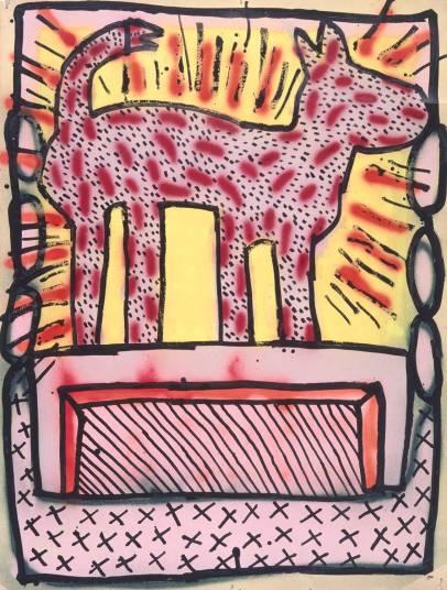Keith Haring, sans titre, 1980 ©Keith Haring Foundation