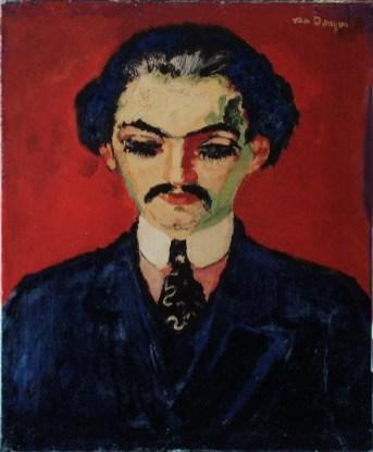 Portrait de Daniel-Henry Kahnweiler par Kees Van Dongen, 1907