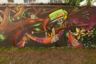 Smerg et Emyr ©Festival Street'Art'Magnac