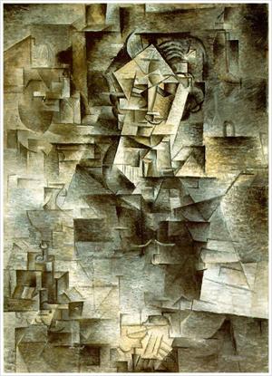 Portrait de Daniel-Henry Kahnweiler par Picasso, 1910