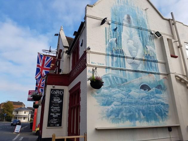 Andy's Art, Artic Scream, Upfest, Bristol 2017 ©Streep