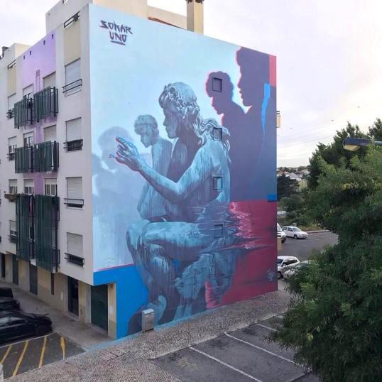 Sokar Uno, Lourès Arte Publica, Portugal, 2018 ©LAP