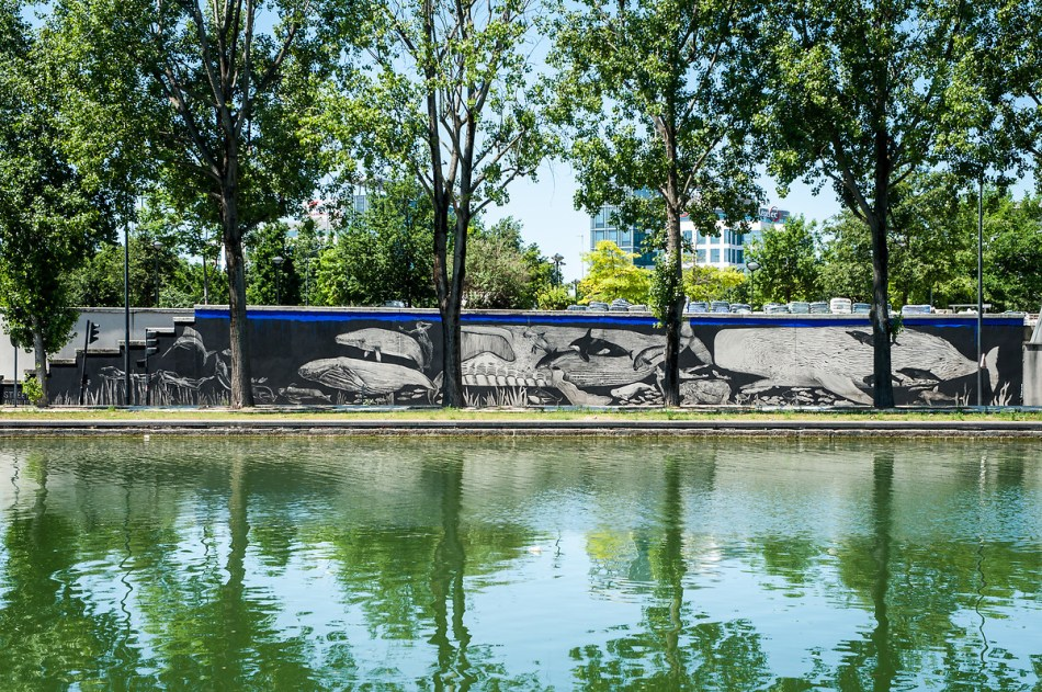Copie de soeurs Chevalme mur Truffaut Street art avenue 2017