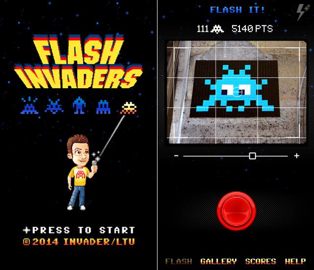 flashinvaders