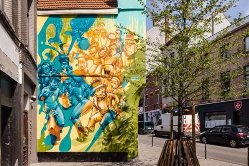 Lazoo, Rue Haute,Hoogstraat, Brussels © visit.brussels-Jean-Paul Remy,2019