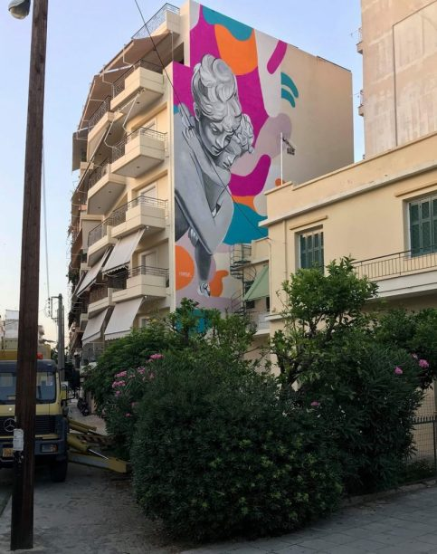 HAMBAS, Koumanioti str. 19, Patras, 2018 ©Art in Progress