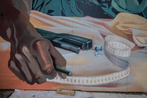 Détail de la fresque @vlecaer.com www.vlecaer.com