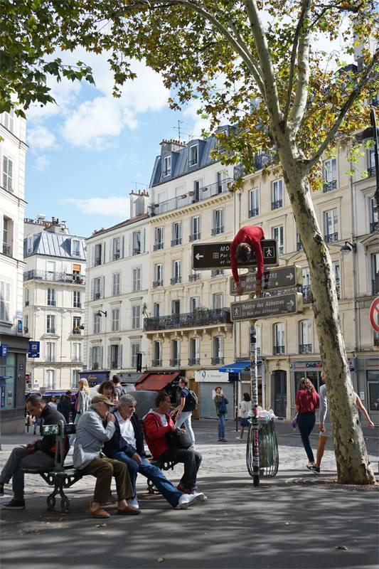 Échoué Paris, 2016-2018 © Milo-project