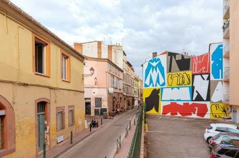 Jeroen Erosie, rue des Blanchers, Toulouse 2019 ©Benjamin Roudet