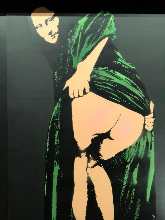 Moona Lisa,Nick Walker, 2019 ©Streep