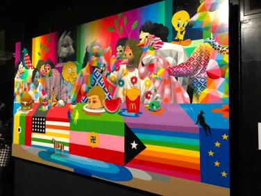 The Last Supper II, Okuda San Miguel, 2019 ©Streep