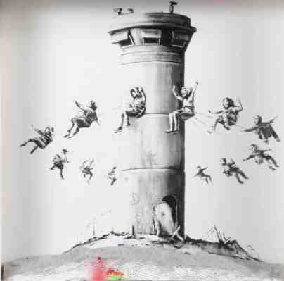 BANKSY, « Walled off box set »