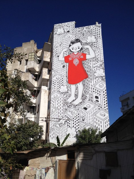 "Millo, ""Enjoy the Silent"", Casablanca, Maroc, 2019 © Millo"