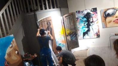 performance street art live