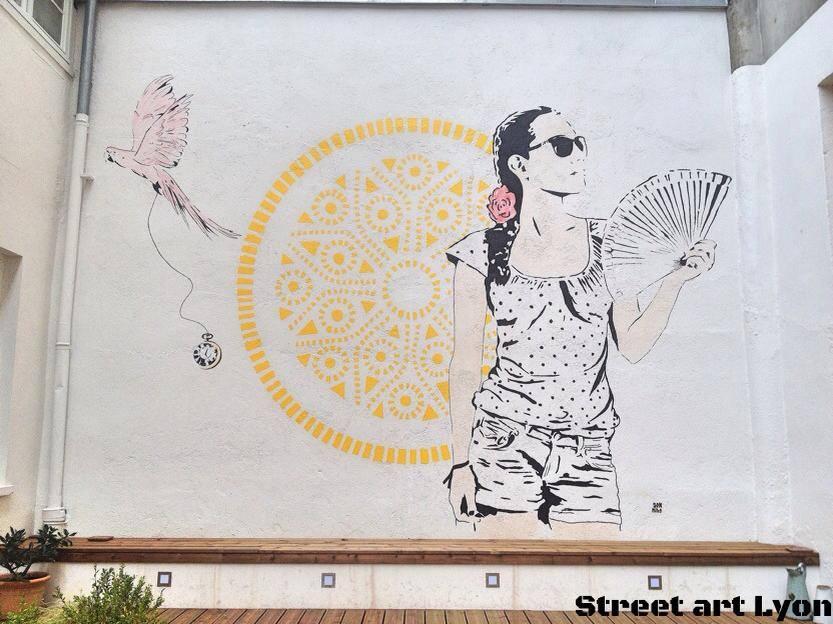 Don Mateo slo hostel fresque