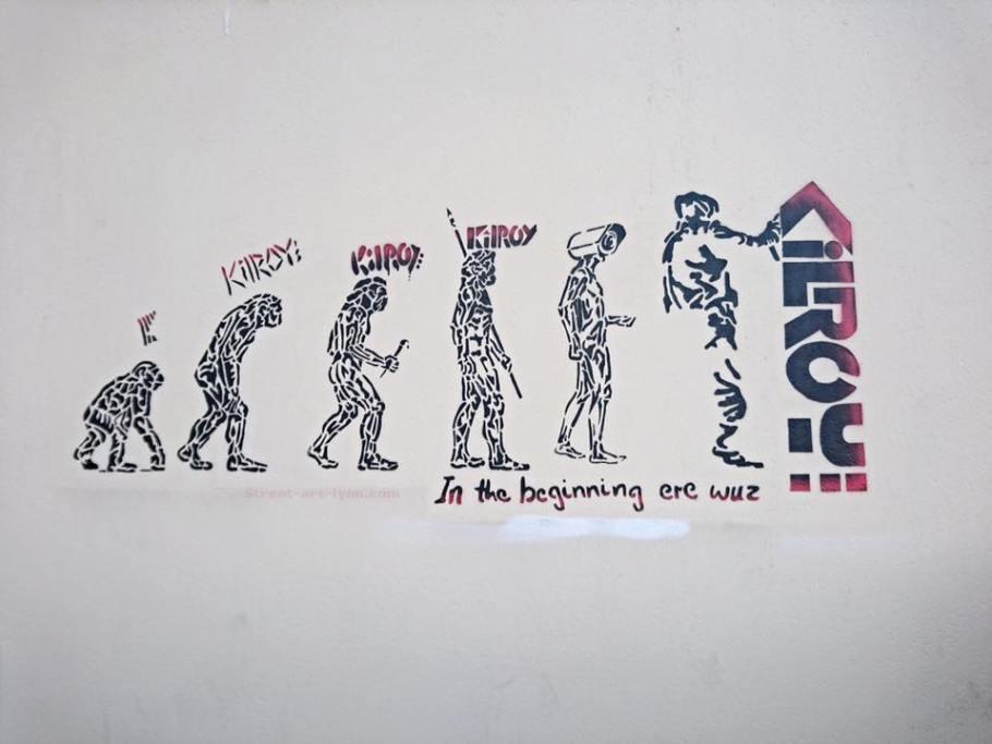 kilroy-evolution
