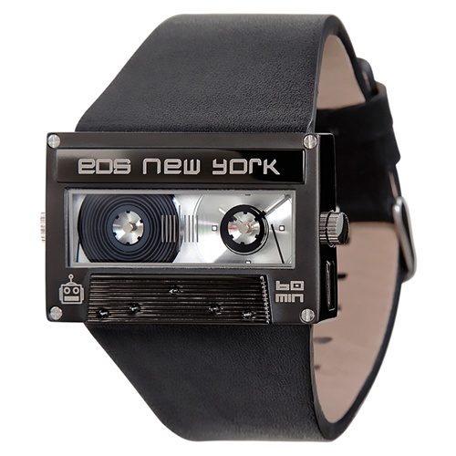 EOS mixtape watch in black