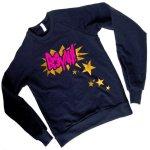 Booyah Sweatshirt by Junkprints