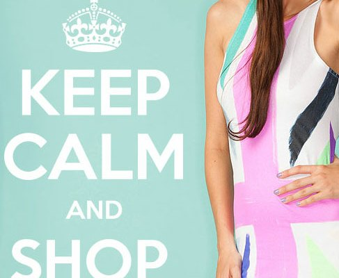 Keep Calm and Shop