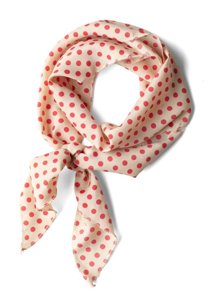 Bow to Stern Scarf in Dots