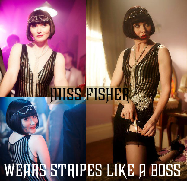 Miss Fisher's Burlesque Style
