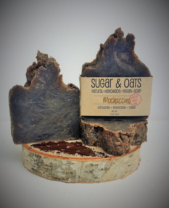 MOCHACCINO SCRUB SOAP by Sugar and Oats